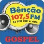 Logo da emissora Rádio Bênção 107.5 FM