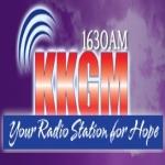 Logo da emissora KKGM 1630 AM