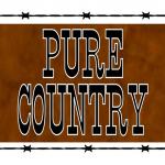 Logo da emissora KEQX 89.7 FM Pure Country