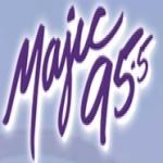 Logo da emissora KKMJ 95.5 FM