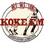 Logo da emissora KOKE 99.3 FM