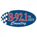 Logo da emissora Radio WBTR 92.1 FM
