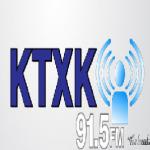 Logo da emissora KTXK 91.5 FM