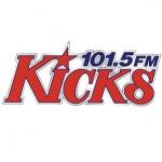 Logo da emissora Radio WKHX 101.5 FM