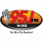 Logo da emissora Radio WJRB 95.1 FM