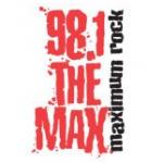 Logo da emissora WXMX 98.1 FM The Max