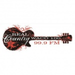Logo da emissora WSNT 99.9 FM Real Country Waco