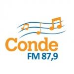 Logo da emissora Rádio Conde 87.9 FM