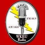 Logo da emissora Radio WKEU 1450 AM