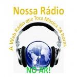 Logo da emissora Nossa Rádio Web