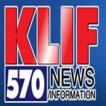 Logo da emissora KLIF 570 AM