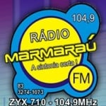 Logo da emissora Rádio Marmaraú 104.9 FM