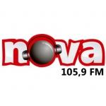 Logo da emissora R�dio Nova 105.9 FM