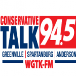 Logo da emissora WGTK 94.5 FM Conservative Talk