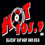 Logo da emissora WHXT 103.9 FM Hot