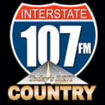 Logo da emissora WVSZ 107.3 FM Interstate