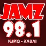 Logo da emissora Radio KJMQ 98.1 FM