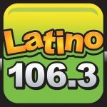 Logo da emissora Radio Latino 106.3 FM