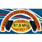 Logo da emissora R�dio Esperan�a 87.9 FM