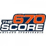 Logo da emissora Radio WSCR The Score 670 AM