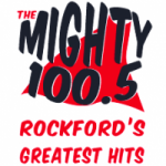 Logo da emissora Radio WXRX The Mighty 100.5 FM