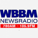 Logo da emissora Radio WBBM 780 AM 105.9 FM