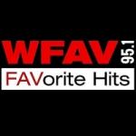 Logo da emissora Radio WFAV 95.1 FM