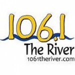 Logo da emissora Radio WWWY The River 106.1 FM