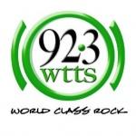 Logo da emissora Radio WTTS 92.3 FM