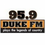 Logo da emissora Radio WDKE Duke 95.9 FM