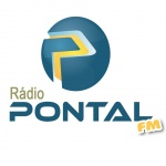 Logo da emissora Rádio Pontal FM