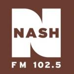 Logo da emissora Radio WMDH Nash 102.5 FM