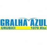 Logo da emissora Rádio Gralha Azul 1070 AM