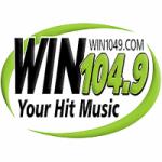 Logo da emissora Radio WINN 104.9 FM