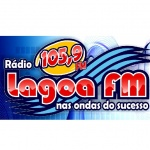 Logo da emissora Rádio Lagoa 105.9 FM