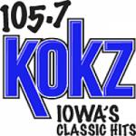 Logo da emissora Radio KOKZ 105.7 FM