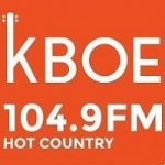 Logo da emissora Radio KBOE 104.9 FM