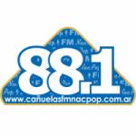 Logo da emissora Radio Cañuelas NacPop 88.1 FM