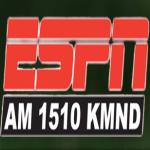 Logo da emissora KMND 1510 AM
