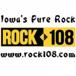 Logo da emissora Radio KFMW Rock 108 107.9 FM