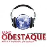 Logo da emissora Rádio O Destaque