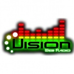 Logo da emissora Vision Web Radio