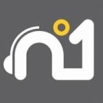 Logo da emissora Rádio Número 1