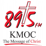 Logo da emissora KMOC 89.5 FM