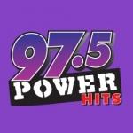Logo da emissora Radio KJCK 97.5 Power Hits FM