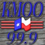 Logo da emissora KMOO 99.9 FM