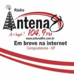 Logo da emissora R�dio Antena 8 104.9 FM