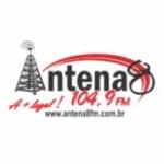 Logo da emissora Rádio Antena 8 104.9 FM