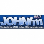 Logo da emissora Radio JOHN FM 88.7 FM