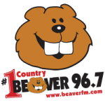 Logo da emissora Radio WBVR The Beaver 96.7 FM